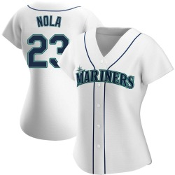 Austin Nola Seattle Mariners Women's Authentic Home Jersey - White