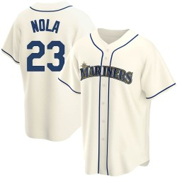 Austin Nola Seattle Mariners Youth Replica Alternate Jersey - Cream