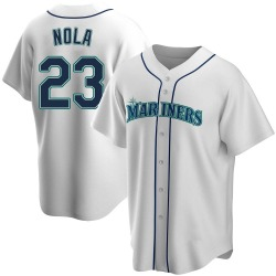 Austin Nola Seattle Mariners Youth Replica Home Jersey - White