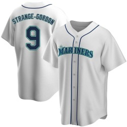 Dee Gordon Seattle Mariners Youth Replica Home Jersey - White