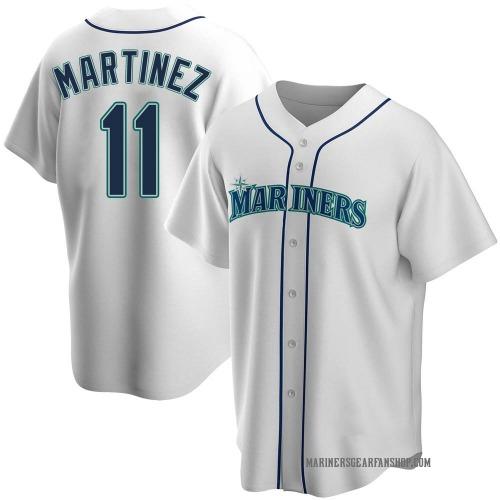 Edgar Martinez Seattle Mariners Youth Replica Home Jersey - White