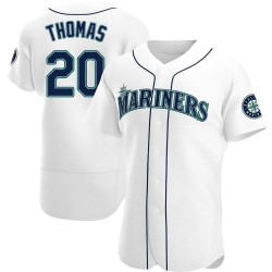 Gorman Thomas Seattle Mariners Men's Authentic Home Jersey - White