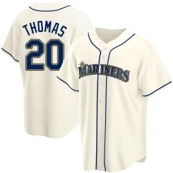 Gorman Thomas Seattle Mariners Men's Replica Alternate Jersey - Cream