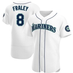 Jake Fraley Seattle Mariners Men's Authentic Home Jersey - White