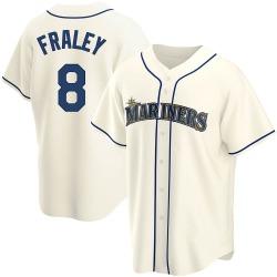 Jake Fraley Seattle Mariners Men's Replica Alternate Jersey - Cream