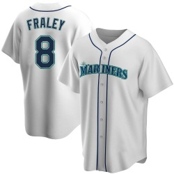 Jake Fraley Seattle Mariners Men's Replica Home Jersey - White