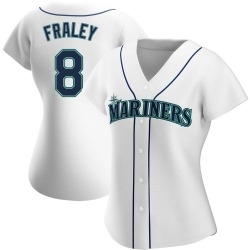Jake Fraley Seattle Mariners Women's Authentic Home Jersey - White