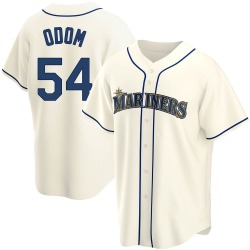 Joseph Odom Seattle Mariners Men's Replica Alternate Jersey - Cream