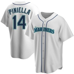 Lou Piniella Seattle Mariners Youth Replica Home Jersey - White