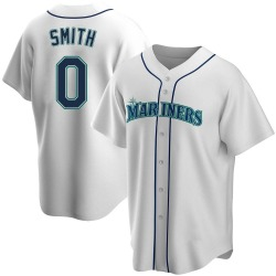 Mallex Smith Seattle Mariners Youth Replica Home Jersey - White