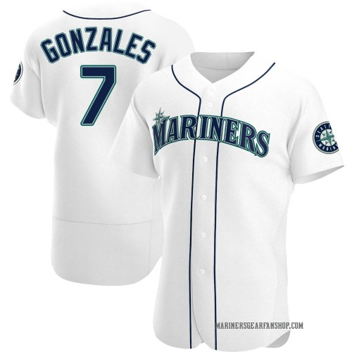 Marco Gonzales Seattle Mariners Men's Authentic Home Jersey - White