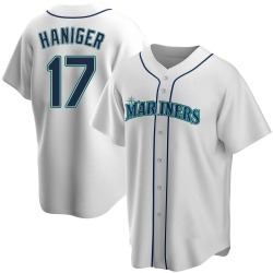Mitch Haniger Seattle Mariners Men's Replica Home Jersey - White