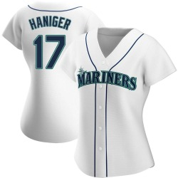 Mitch Haniger Seattle Mariners Women's Authentic Home Jersey - White