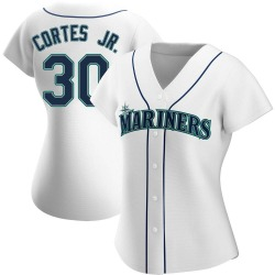 Nestor Cortes Jr. Seattle Mariners Women's Authentic Home Jersey - White