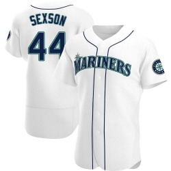Richie Sexson Seattle Mariners Men's Authentic Home Jersey - White