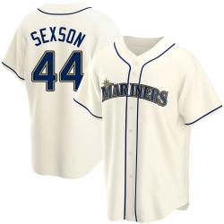 Richie Sexson Seattle Mariners Men's Replica Alternate Jersey - Cream