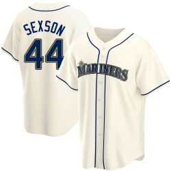Richie Sexson Seattle Mariners Youth Replica Alternate Jersey - Cream
