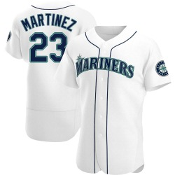 Tino Martinez Seattle Mariners Men's Authentic Home Jersey - White