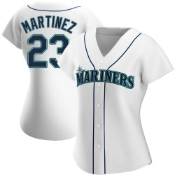 Tino Martinez Seattle Mariners Women's Replica Home Jersey - White