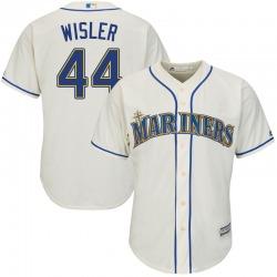 Matt Wisler Seattle Mariners Youth Replica Majestic Cool Base Alternate Jersey - Cream