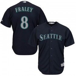 Jake Fraley Seattle Mariners Men's Replica Majestic Cool Base Alternate Jersey - Navy