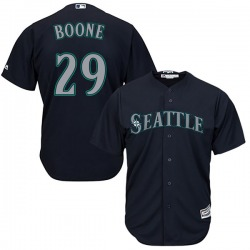 Bret Boone Seattle Mariners Youth Replica Majestic Cool Base Alternate Jersey - Navy