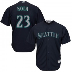 Austin Nola Seattle Mariners Youth Replica Majestic Cool Base Alternate Jersey - Navy