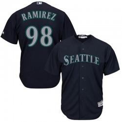 Yohan Ramirez Seattle Mariners Youth Replica Majestic Cool Base Alternate Jersey - Navy