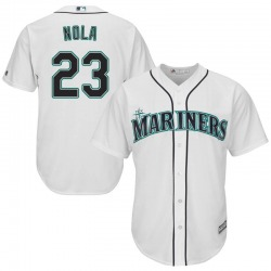 Austin Nola Seattle Mariners Youth Replica Majestic Cool Base Home Jersey - White