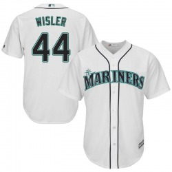 Matt Wisler Seattle Mariners Men's Replica Majestic Cool Base Home Jersey - White